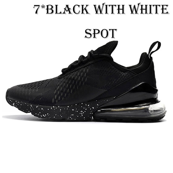 7 black with White spot 36-45