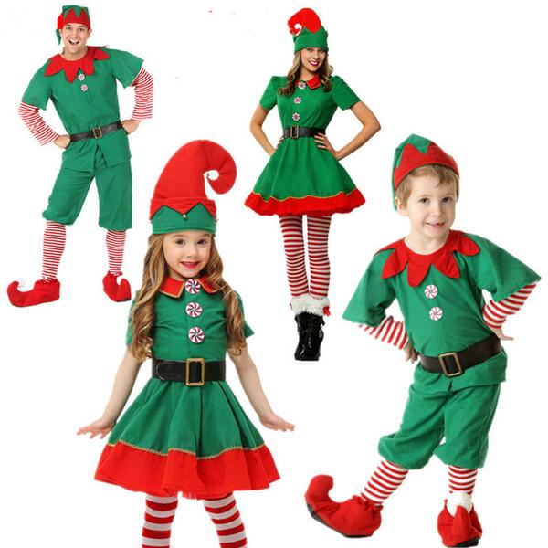 Cappelli di Babbo Natale Elfo Blu Adulto Bambino Unisex Costume Natale BULK quantità all/'ingrosso