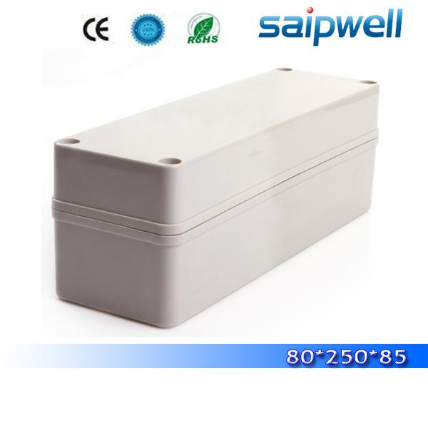 2015 best hot sale IP66 small waterproof enclosures for electronics 80*250*85mm High quality DS-AG-0825-1
