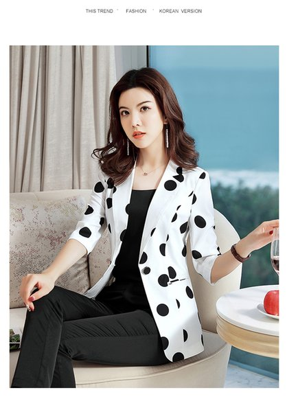 Wave a small suit female temperament of ms han edition cultivate one's morality show thin fashion joker leisure web celebrity career jackets