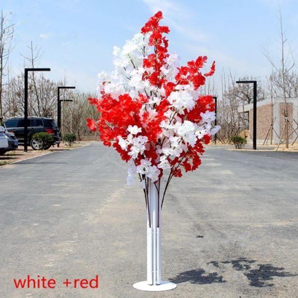 أبيض + أحمر