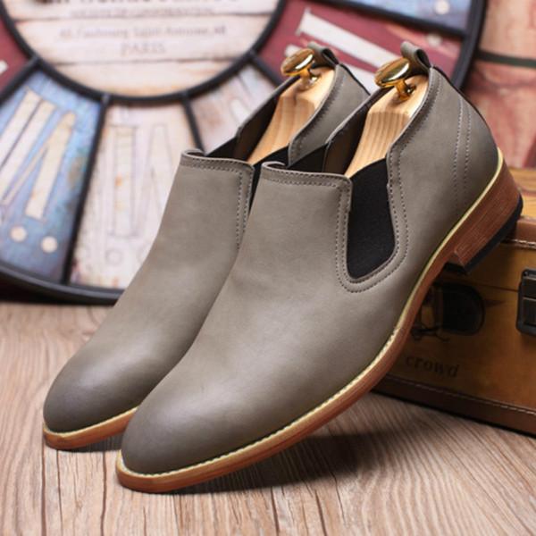 2019 moda Homens Mocassins de Couro Genuíno Sapatos Casuais Homens Flats Sapatos Oxford Para luz venda Quente Condução AS-58