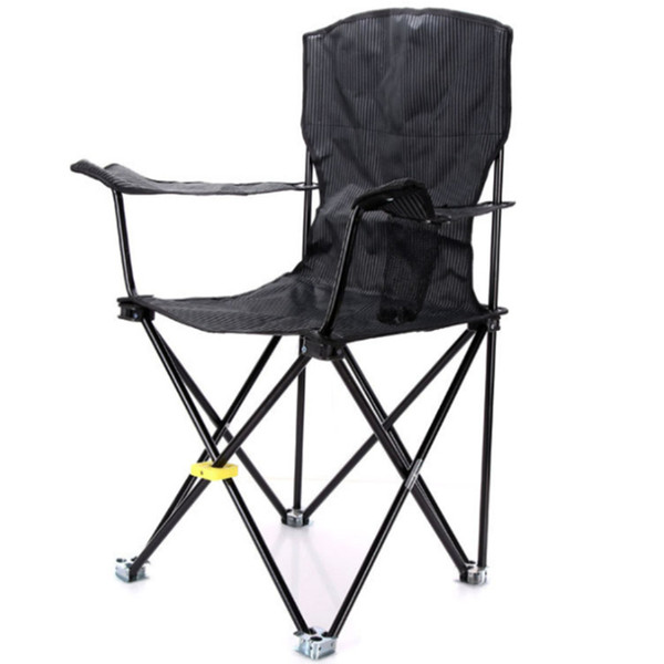 Outdoor four-Legged Fishing Stool Foldable Folding Stool Camp Beach Fishing Travel Camping Picnic Chair Fishing Accessories FCC001