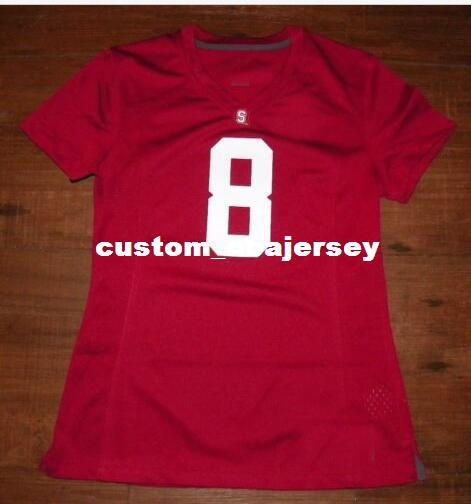 Cheap wholesale Stanford Cardinal Football Jersey NEW Sewing custom any number name football jersey MEN WOMEN YOUTH XS-5XL