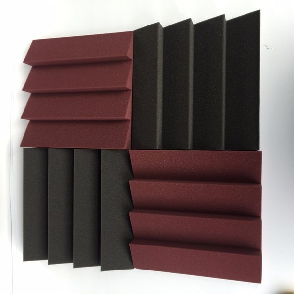Acoustic Wedge Foam For Theatre Good Quality Sound Proof Mix Color Q190416