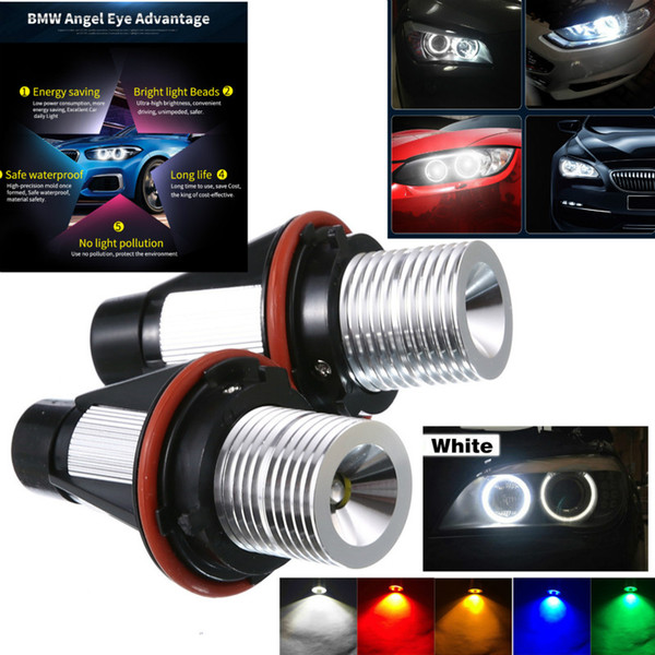 BMW Angel Eye E39 5W LED Araç Far Dekorasyon Değişikliği
