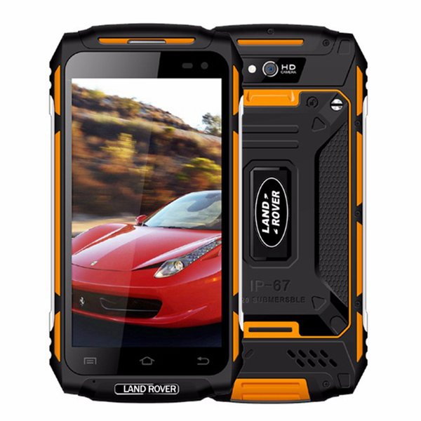 "4G LTE Land Rover X2 IP68 Waterproof Dustproof Shockproof Quad Core MTK6737 2GB 16GB 5.0"" IPS 1280*720 HD GPS 13MP Camera Rugged Smartphone"