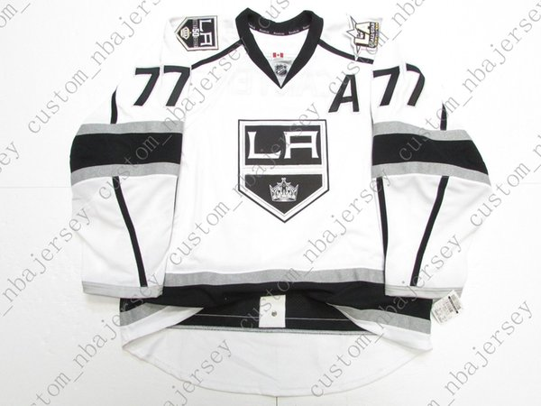 free shipping 87603 18257 2019 Cheap Custom #77 CARTER LOS ANGELES KINGS 50th ANNIVERSARY JERSEY  Stitch Add Any Number Any Name Mens Hockey Jersey XS 5XL From  Custom_nbajersey, ...