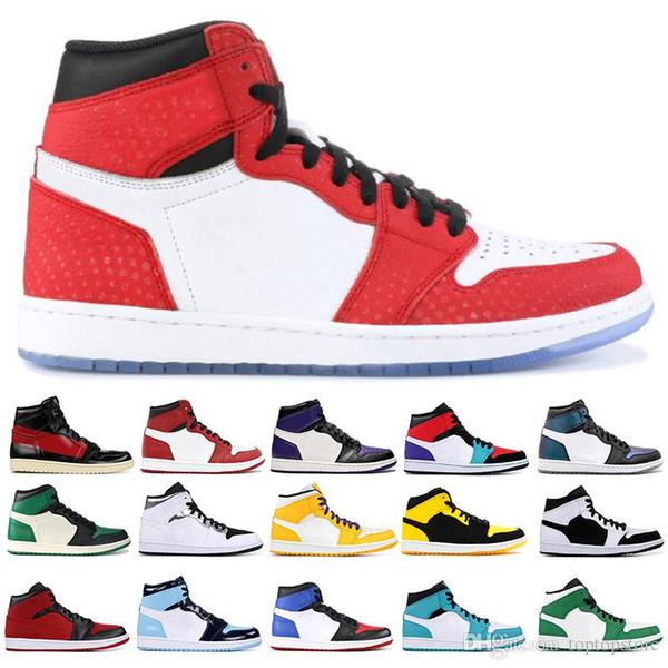 1 1S High OG Мужчины Баскетбольные кроссовки Banned Toe Shadow Gold Модельер кроссовки Мужские кроссовки Легкая атлетика Бег Спортивная обувь 40-47