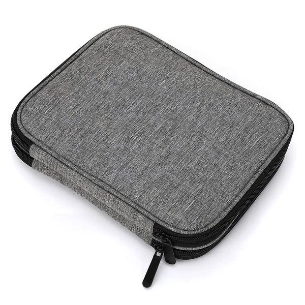 Looen Empty Crochet Hook Bag Storage Pouch Knitting Bag for Sewing Croceht Needles Knitting Kit Case DIY Weave Tools Crochet