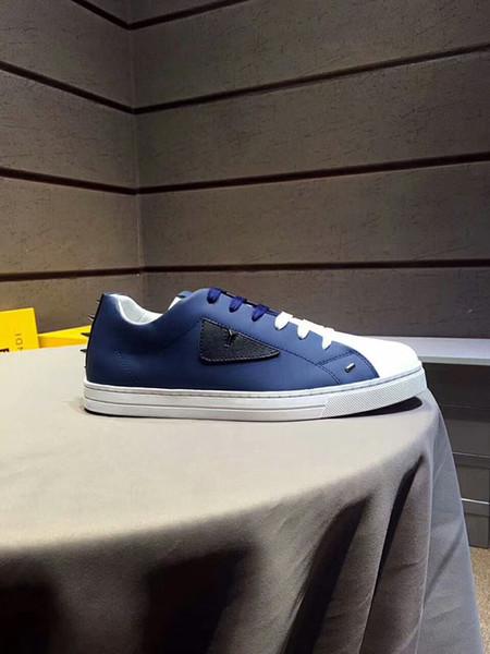 Вышитая Корона Мужская обувь человек Повседневная обувь из натуральной кожи бренд мужской обуви высокое качество корова кожа человек продажа модель 38-44 009