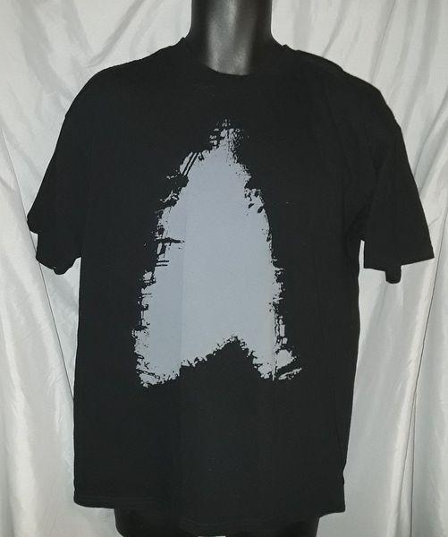 Star Trek Mens Large T-Shirt Into Darkness Starfleet Insignia Spock Kirk teeFunny free shipping Unisex top