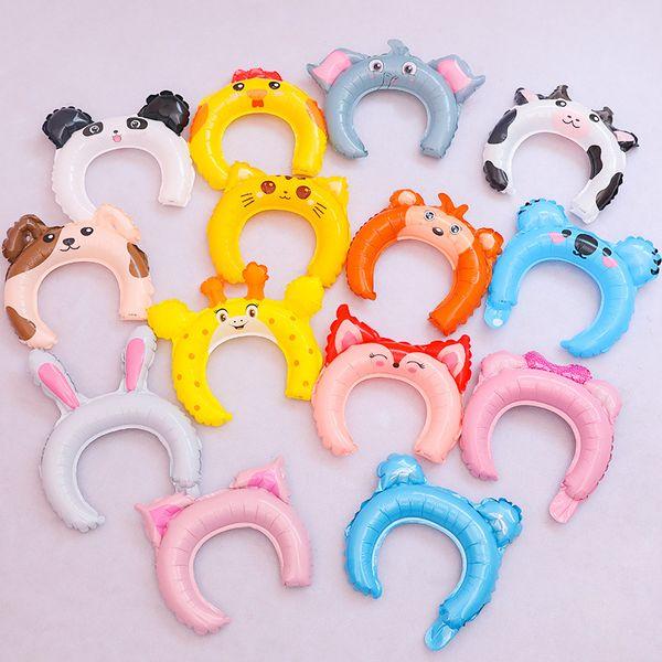 Orelhas de coelho Hairbands Bandas de Cabeça de Balão Adorável Cabelo Varas Criativas Presentes Do Partido Hoe Venda Com Alta Qualidade 0 44qp J1