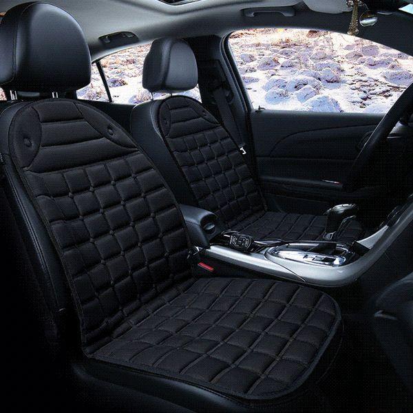 1pcs/2pcs 12V Heated Single Car Seat Cushion Cover Seat ,Heater Warmer , Winter Household Cushion Electric Heated Cushion