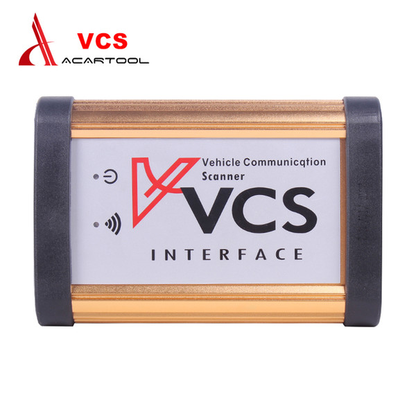 VCS Vehicle Communication Scanner Interface Diagnostic Tool V1.5 Auto Multilingual Communication Scanner For Before 2008