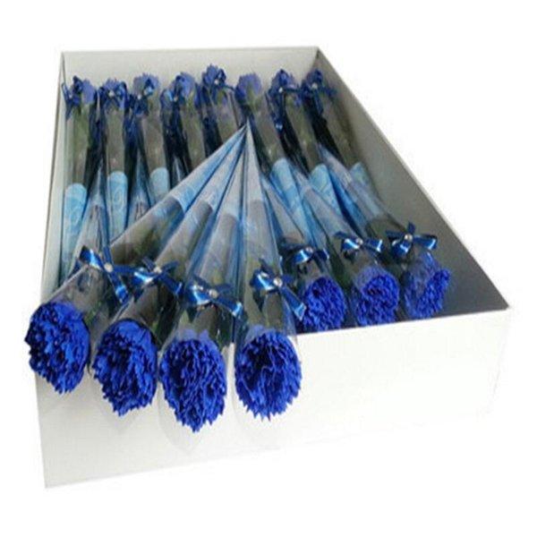 clavel azul