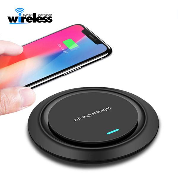 10 w qi rápido carregador sem fio para iphone x xs max xr 8 plus pad de carregamento sem fio para samsung s9 s10 nota 9 8
