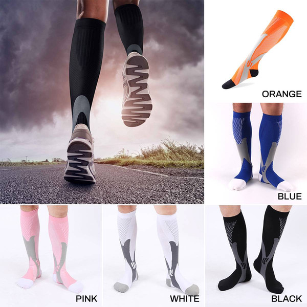 2pairs/lot New Compression Socks for Men Women Running Sports Socks athletic socks, Gear Stamina Socks