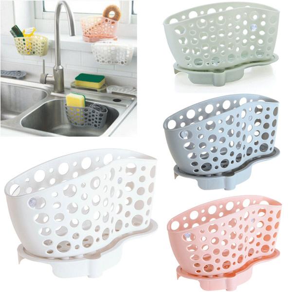 2019 Kitchen Sink Caddy Sponge Holder Storage Organizer Soap Drainer Rack  Strainer From Gl8888, $4.9 | DHgate.Com