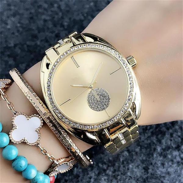 Moda bayanlar altın Kuvars Saatler bayanlar lüks elmas kadın izle Moda Tasarım kadın Kuvars Saatler Ücretsiz Kargo