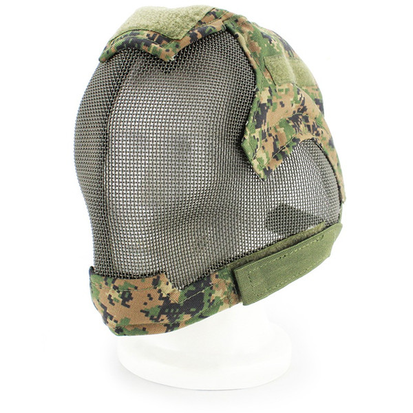 Masque de cyclisme Masque de protection Tête de masque de cycliste Jeu de guerre avec masque de couverture complet