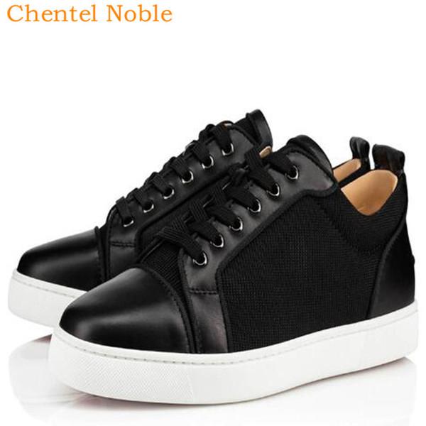 2019 Marque Chentel Noble Manuel Gentleman confortable Robe Mode Hommes Chaussures en cuir véritable Flats Chaussures Hommes Couleur Noir