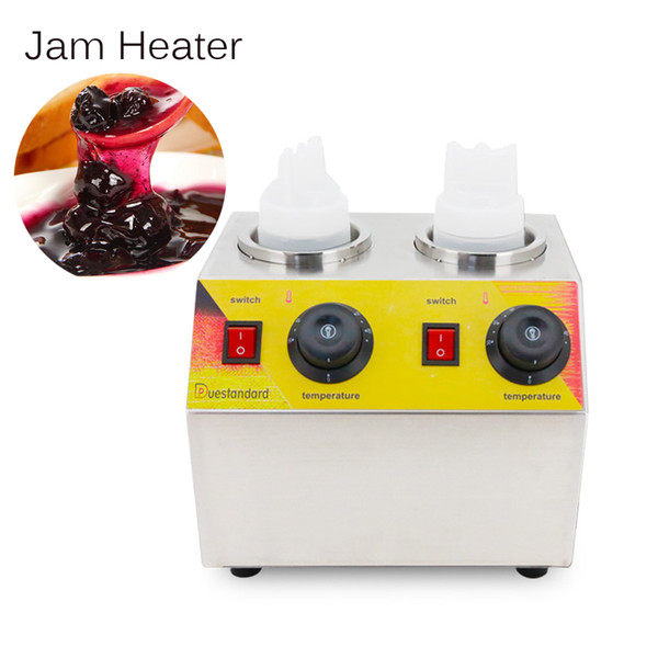 electric jam heater Stainless Steel Commercial hot Chocolate soymilk sauce filling spread warmer bottles heating machine 220V/110V