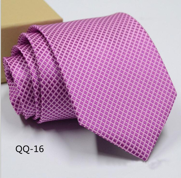 Pink Pinstripe Man Tie for Men Suit Wedding Groom Tuxedos Business Man Fashion Ties New Arrival