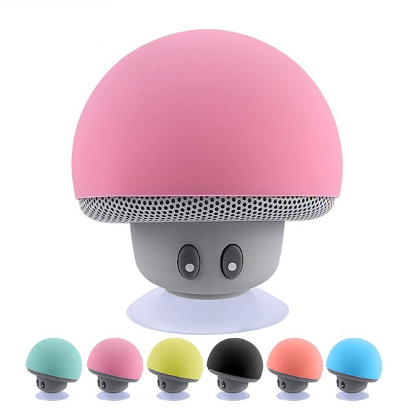 Mini Altavoz Bluetooth Impermeable Seta Música inalámbrica HiFi Estéreo Subwoofer Manos libres para teléfono Android IOS