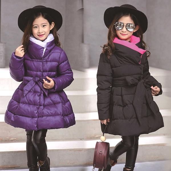 2019 casaco menina com lã capuz de pele zipper jaqueta rosa outono inverno outono 4 5 6 7 8 9 10 anos de idade orelhas urso wholesaleMX190916 vestuário