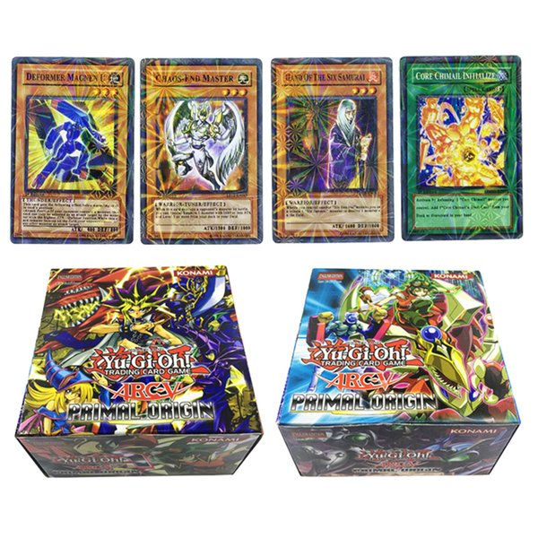 288PCS/Set Yu Gi Oh Game Collection Card Yugioh Cards Figure Toy Cards English Version