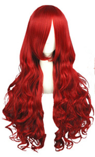 Glueless Fast free Shipping Body Wave red Long Mongolian Human Hair Full/Front Lace Wigs Pre Plucked Peruvian Virgin Remy Hair