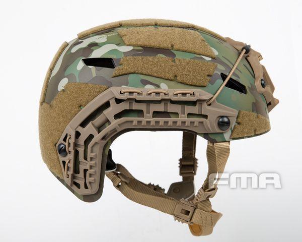 Tactical Airsoft Paintball tático capacete wargame exército proteção protetora de alta qualidade Tactical RÁPIDO com Goggle de Proteção Leve