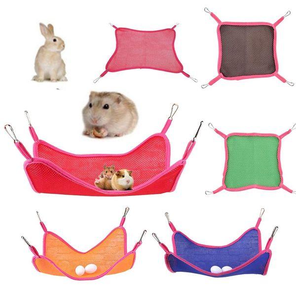 Portable Pet Squirrel Mesh Hammock Home Use Large 30*29cm Breathable Mesh Hammocks Summer Outdoor 6 Colors Squirrel Hammock BH1062-1 TQQ