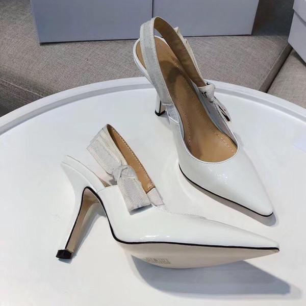 Designer de saltos altos das mulheres do partido moda meninas sexy sapatos pontudos Dança sapatos de casamento cintas duplas sandálias das mulheres sapatos tamanho 35-42