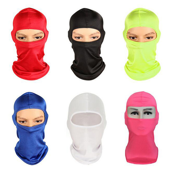 top popular CS Outdoor Balaclavas Sports Neck Face Mask Ski Snowboard Wind Cap Police Cycling Balaclavas Motorcycle Face Masks 12 colors 2020
