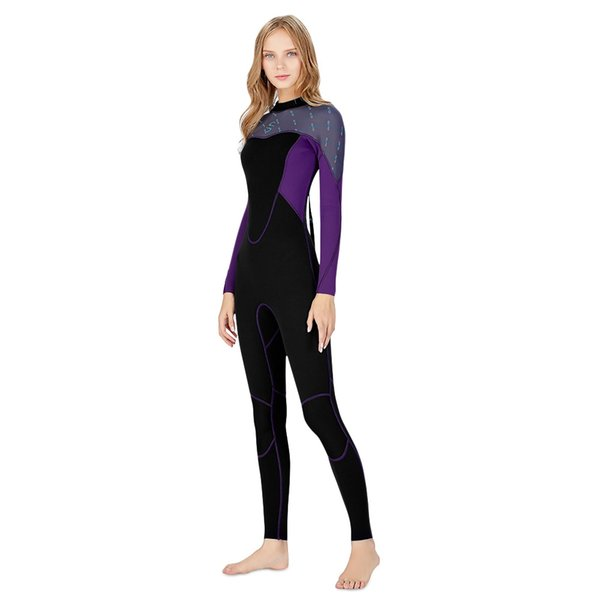 women Scuba Diving Wetsuit Drysuits 2mm snorkeling Suit Neoprene warm winter Swimming Wetsuit Surfing Full Body suits Wet Swimsuit