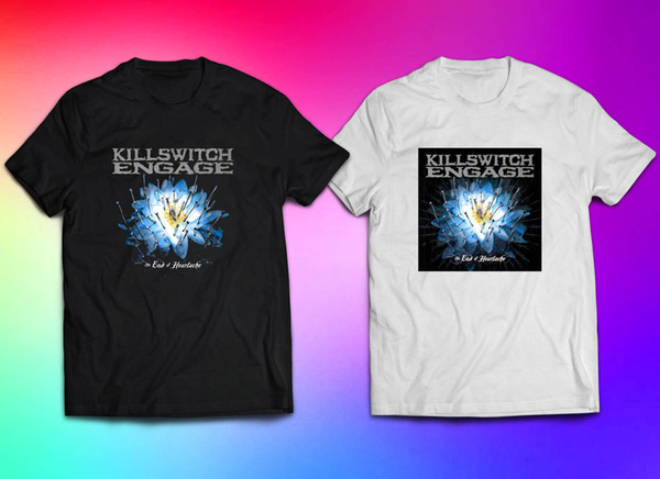 Killswitch Engage The End of Heartache Album T-shirt for Man Size S-3XL Funny free shipping Unisex Casual Tshirt top