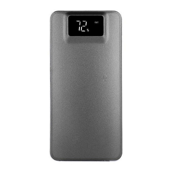 Slim 10000 mAh Power Bank Portable Ultra-thin Polymer Powerbank battery power-bank With LED Light Fast Charger for Mobile Phone