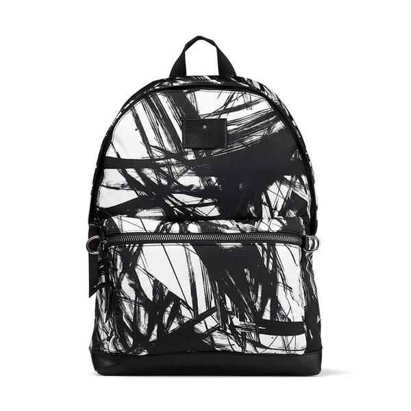 sport marée blanche abstraite de nylon imprimé créateur de mode classique J de luxe C sac à dos grande capacité garçons filles tendance Voyage étudiant ba18cd #