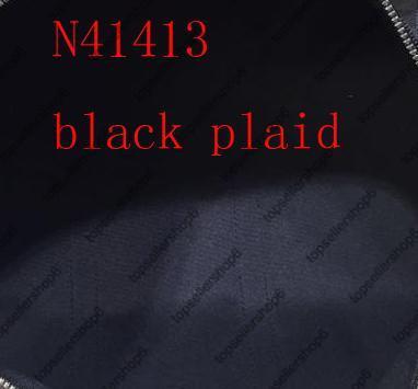 2 Black Plaid