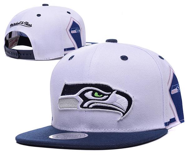 b08d33de8 Tophatstore Todas As Equipes Boné de Beisebol dos Homens Seahawks Ajustável  Snapback Hat Casual lazer chapéus