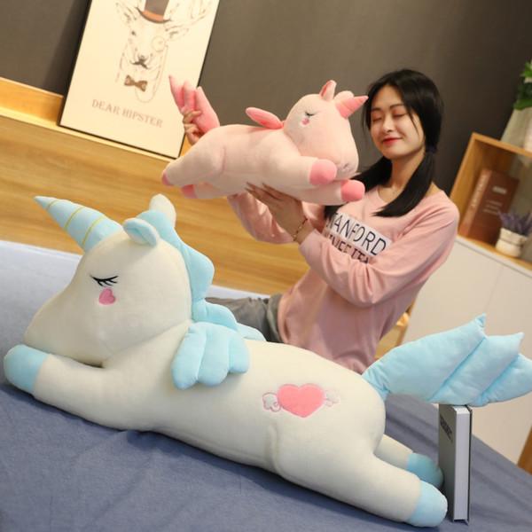 Unicorn Stuffed Animal Plush Toys Travesseiro Carro Decoração Padrões Presentes do Dia dos Namorados Bonito Hot Toys Namorada Presentes de Aniversário