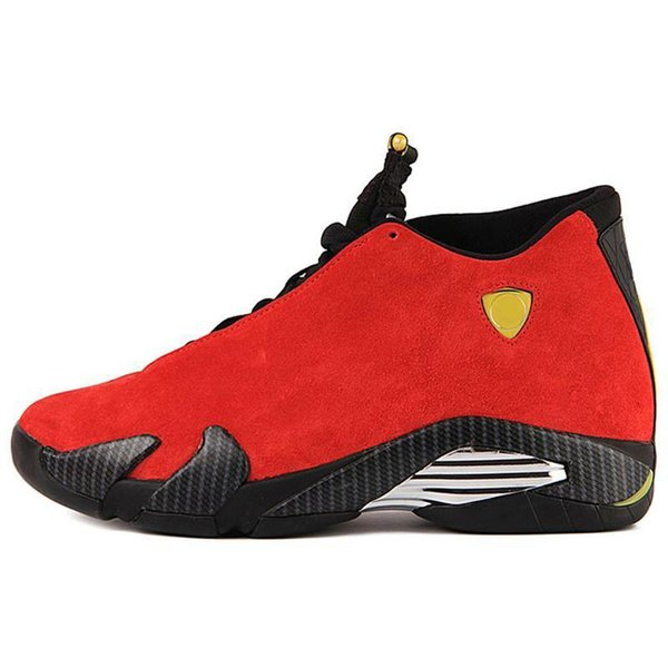 wholesale J014HA new arrival Classical 14XIV outdoor Shoes Men Fusion Purple last shot Black Fusion Varsity Red 14s XIV Playoffs Sneakers 03