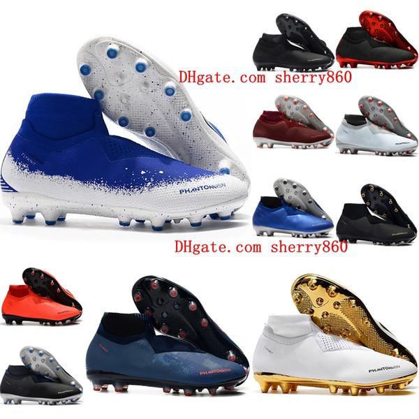 Zapatillas de fútbol para hombre 2019 Phantom VSN Shadow Elite DF AG-PRO botines de fútbol Game Over botas de fútbol scarpe da calcio