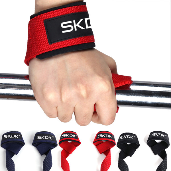 Free DHL Dumbbells Weightlifting Wristband Sport Professional Training Hand Bands Wrist Support Straps Wraps Guards For Gym Fitness M422F