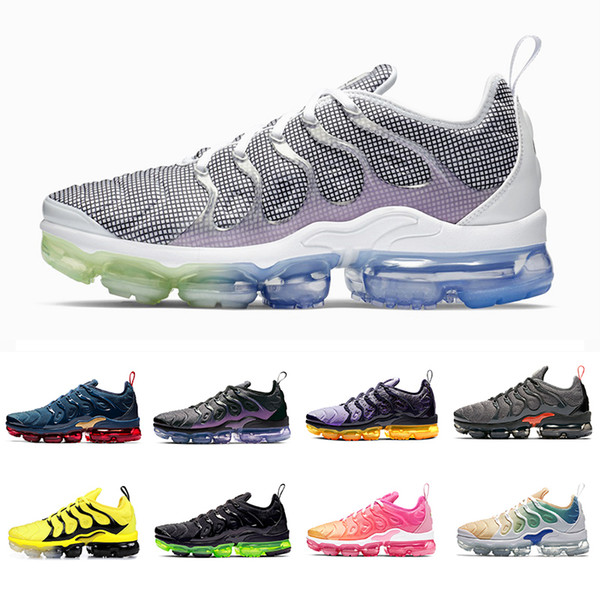 Nike Air vapormax plus tn shoes Cheap Active Fuchsia Megatron TN Plus Men Athletic Running Shoes Spirit Teal GRAPE Geometric Black Lemon Lime Mens women sports sneakers