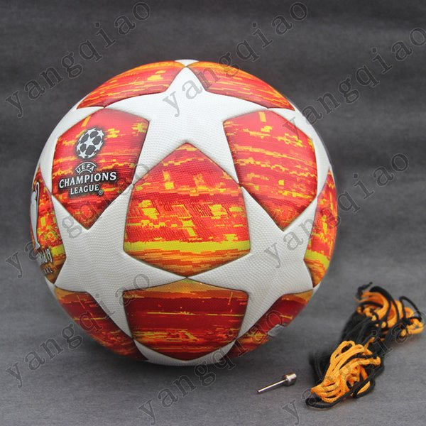2019 2018 2019 Champions League Soccer Ball Red PU High Grade Seamless  Paste Skin Football Ball Size 4 Size 5 From Yangqiao2018, $30 16 |  DHgate Com