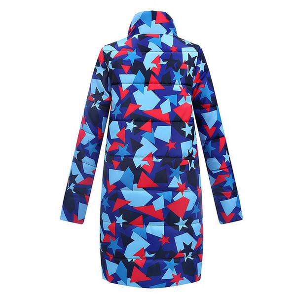 Womens Designer Daunenmantel Mode Geometrische Muster Jacken aktiver mit Kapuze Kleidung für Frauen Winter-Kleidung für Großhandel 2020 New