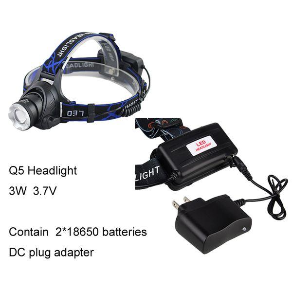 Q5 Licht mit Gleichstromadapter